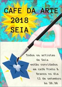 Flyer Café da Arte