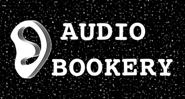 Logo audio bookery one more