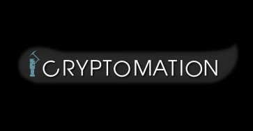 Robot cryptomation logo