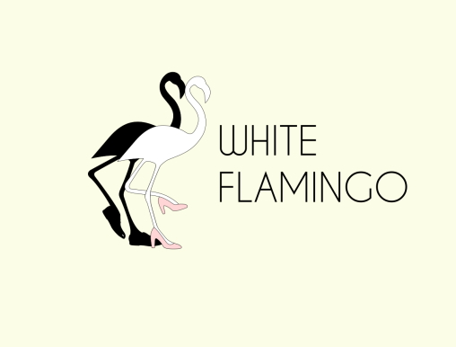 white flamingo logo6