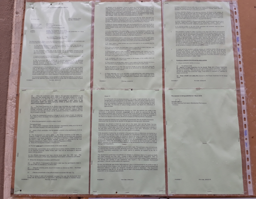 Malta bureaucracy